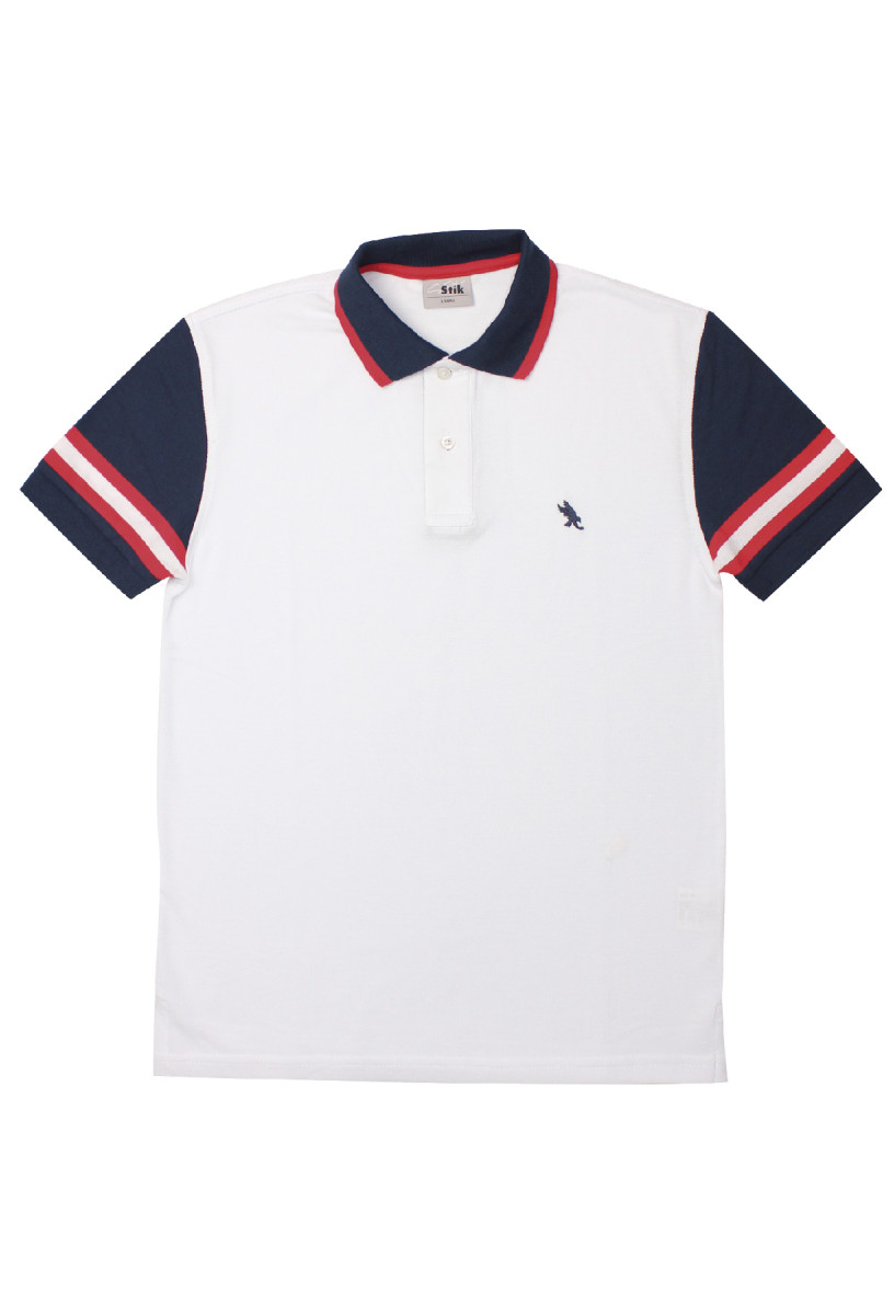 STIK Sleeve Block Polo