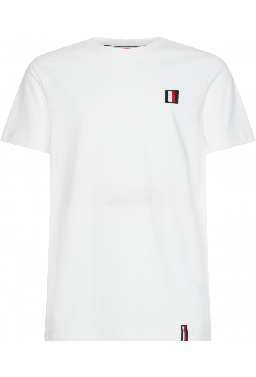 TOMMY ICON WOVEN LABEL RELAXED TEE